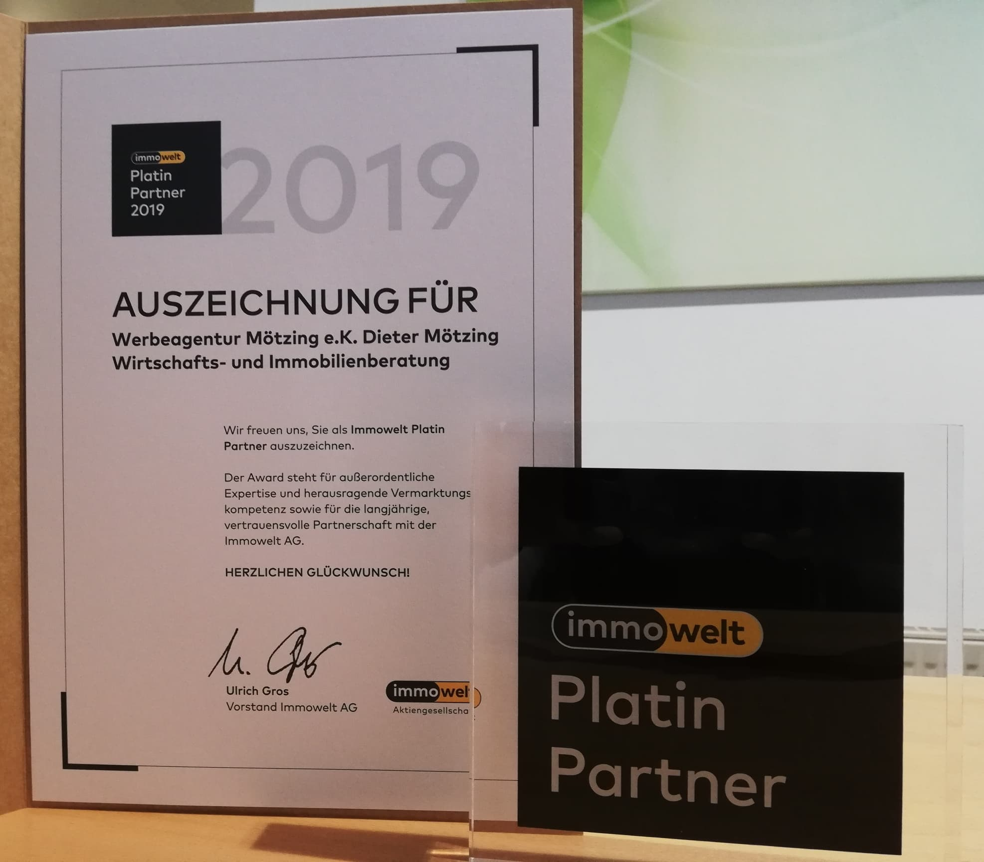Immowelt-Partner Werbeagentur M�tzing e.K.